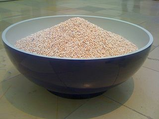 Bowl of Pearls by Ai Weiwei