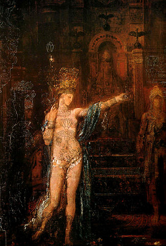 Salome by Gustave Moreau